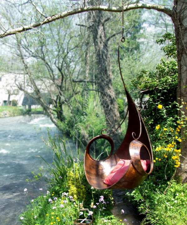 15 Garden Swing Chair Ideas
