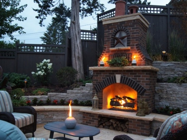 30 Ideas For Outdoor Fireplace And Grill