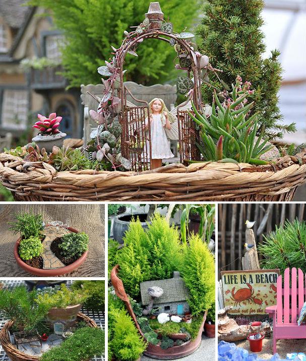 Fabulous And Cute Mini Fairy Gardens