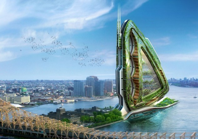 15 Incredible Buildings From The Future