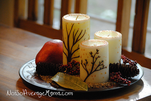 25 DIY Ideas How To Decorate A Candle
