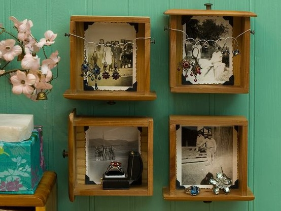 15 DIY Ideas How To Re Purpose Old Drawers