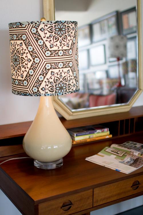 Large Fabric Pendant Light