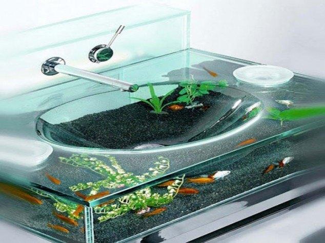 18 Creative and Modern Bathroom Sinks Designs