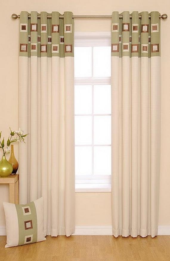 Modern Living Room Curtains Design