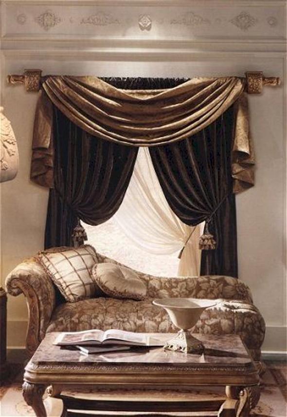20 Modern Living Room Curtains Design