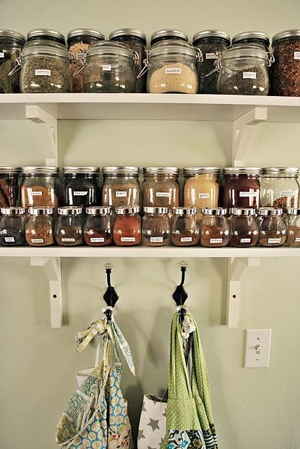 DIY 20 Clever Kitchen Spices Organization Ideas