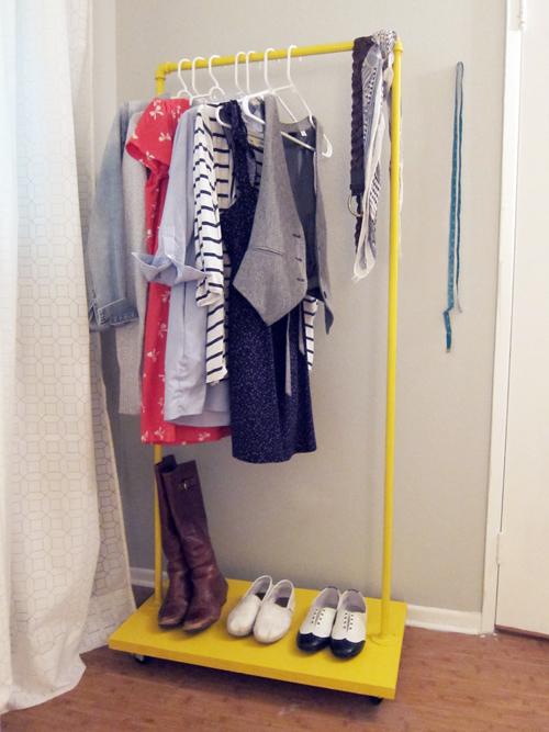 20 DIY Clothes Organization Ideas