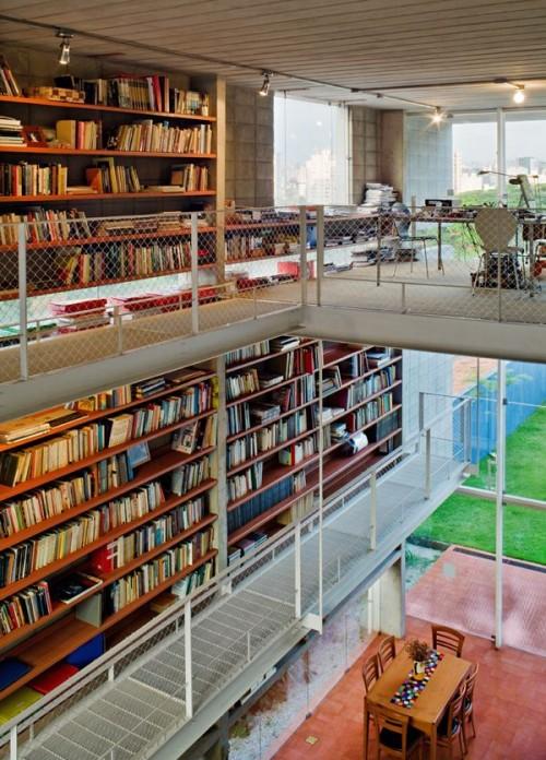 20 Creative Home Library Designs