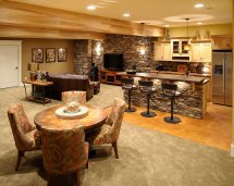 Home Basement Bar Design Ideas