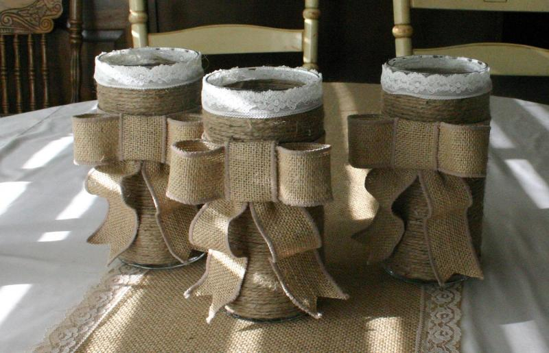 17 DIY Burlap Home Decorations