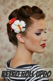 retro hairstyle tutorials