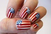 fun and easy 4th july nail design