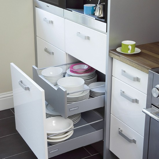 Big Space Saving Ideas For Small Kitchens