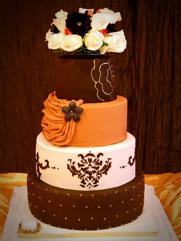 22 Awesome Wedding Cakes For A Fall Wedding