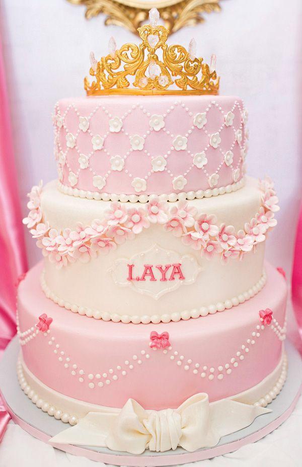 Lovely Baby Girl First Birthday Cake Ideas