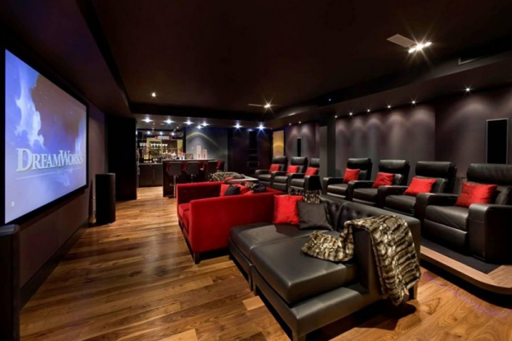 movie theaters with lounge chairs kitchen table and cheap mind blowing home for your dream homes