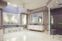 Mesmerizing Purple Bathroom Designs