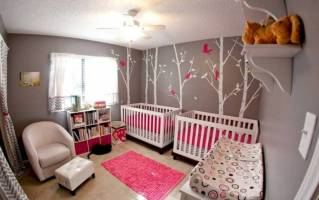 20 Cute Twin Baby Nursery Designs