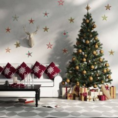 Ideas For Decorating Your Living Room Christmas Interior Design Very Small Rooms Make Home Feel Festive Graphic White House Bring The Spirit Into