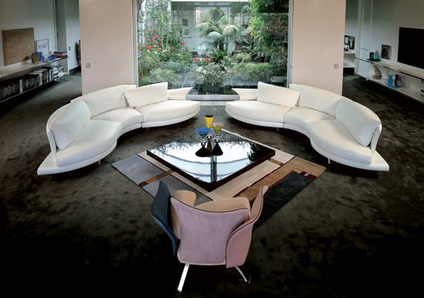 Modern Leather Living Room Furniture Ideas