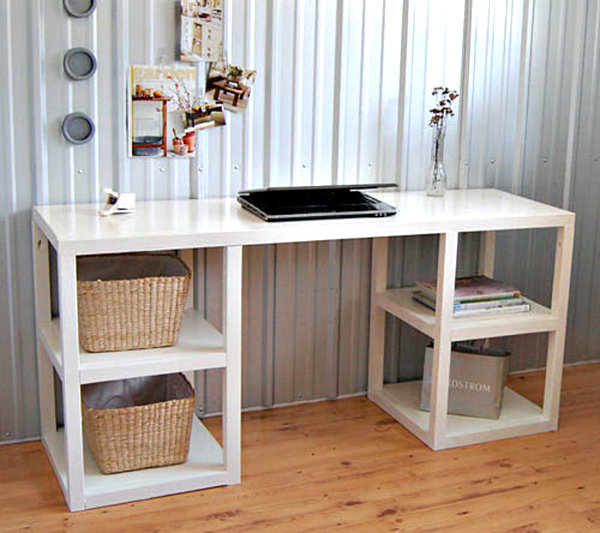 Cool DIY Office Desk Ideas For Your Home Office