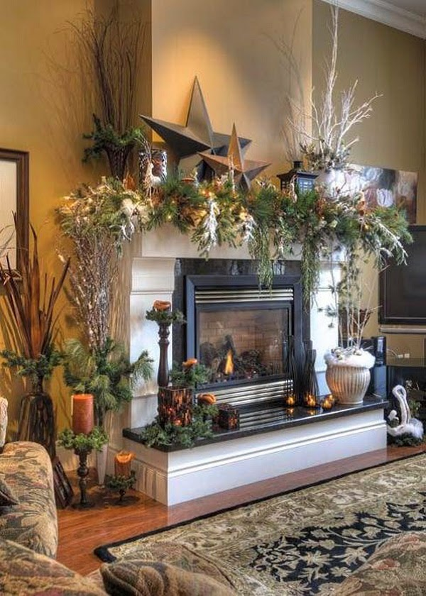 18 Magical Christmas Mantelpiece Decorations