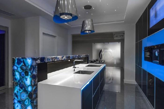kitchen cabinets design ideas affordable kitchens and baths impressive blue designs