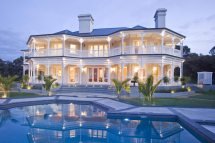 Robert Mugabe S House Blue Roof