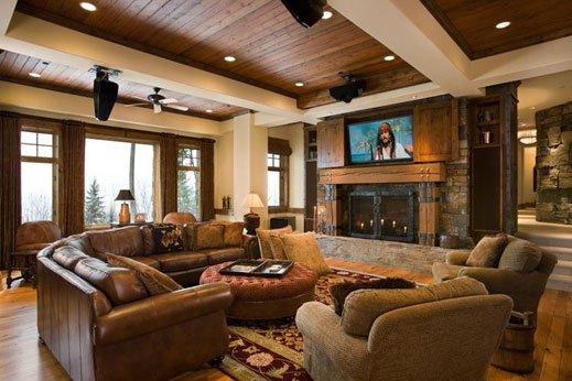 16 Rustic Living Room Designs