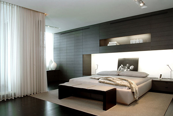 modern minimalist bedroom furniture 18 Modern Minimalist Bedroom Designs