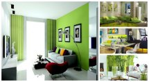Lime Green Living Room Design