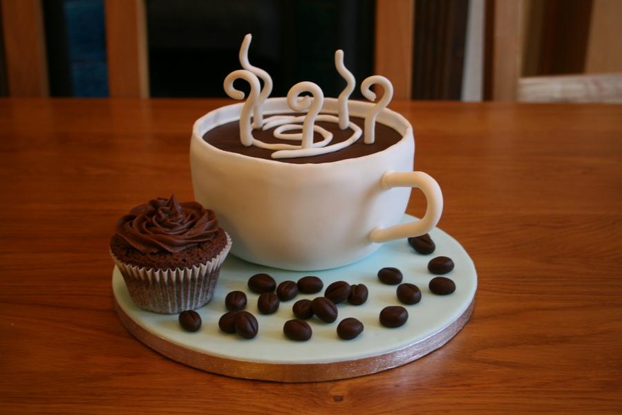 Creative Coffee Cake And Cupcake Designs