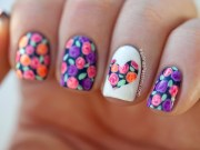 amazing floral nail design