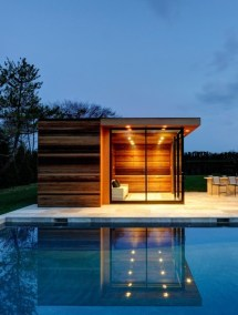Small Modern House with Swimming Pool