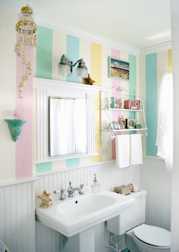Modern Pastel Bathroom Designs