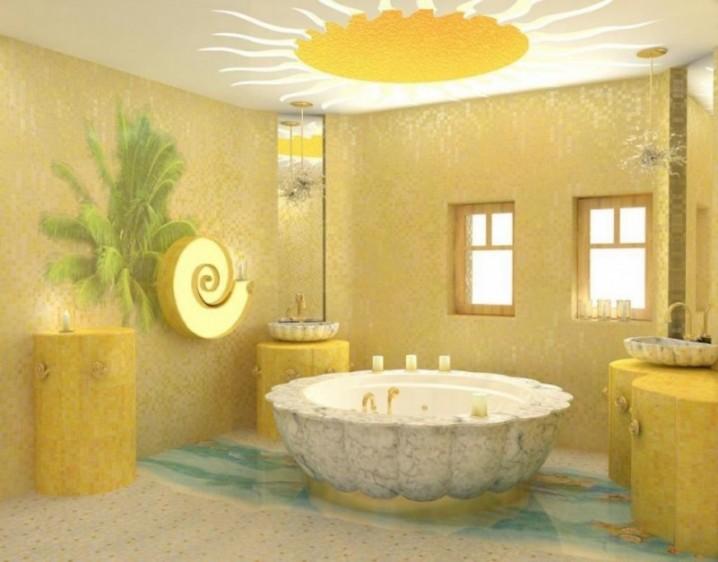 15 Yellow Bathroom Designs
