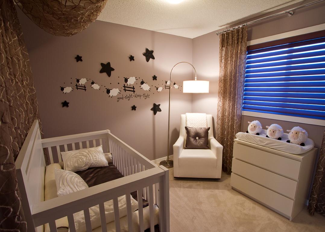 modern unisex nursery room designs