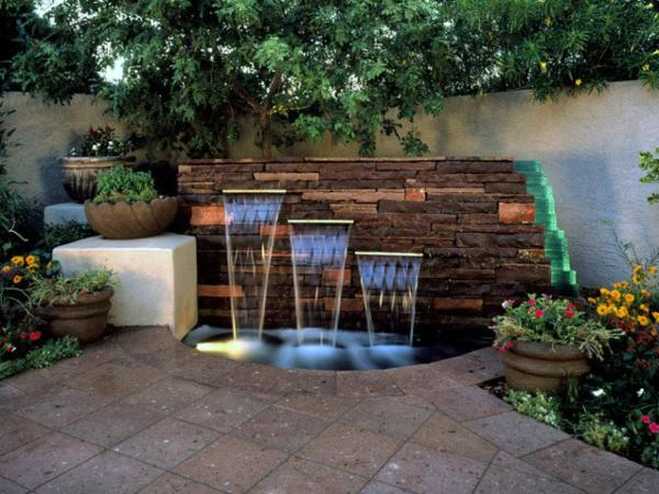 fantastic backyard water features