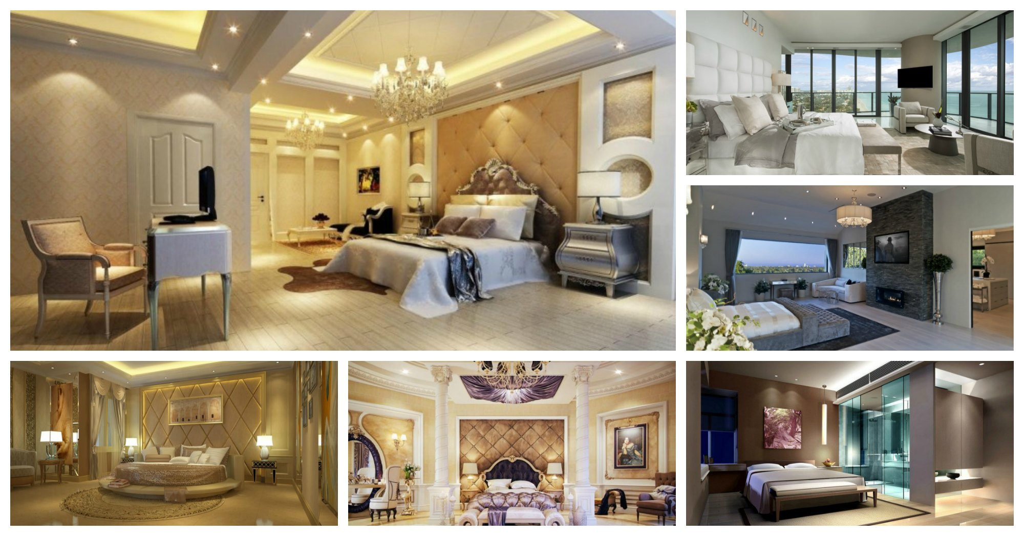 10 Fascinating Mansion Master Bedroom Designs