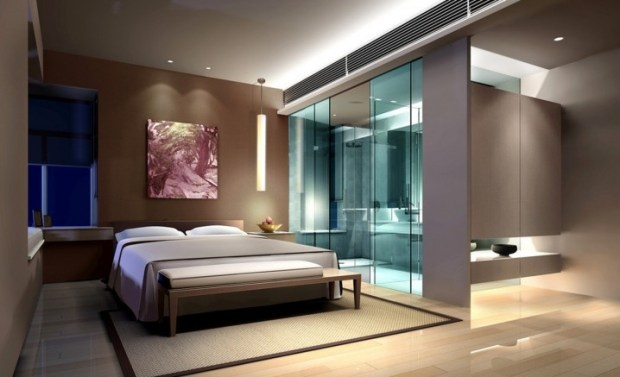 10 fascinantes diseños dormitorio master Mansión
