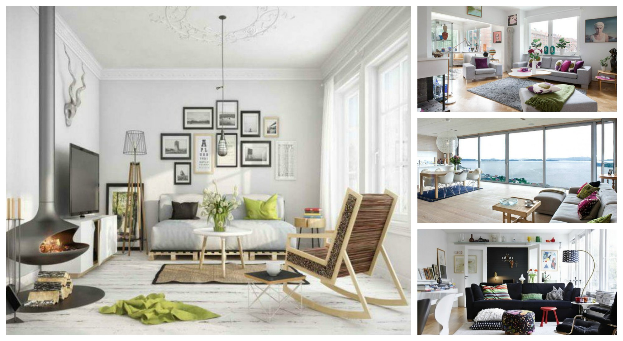 bright colour living room ideas club chairs for stunning and chic scandinavian designs