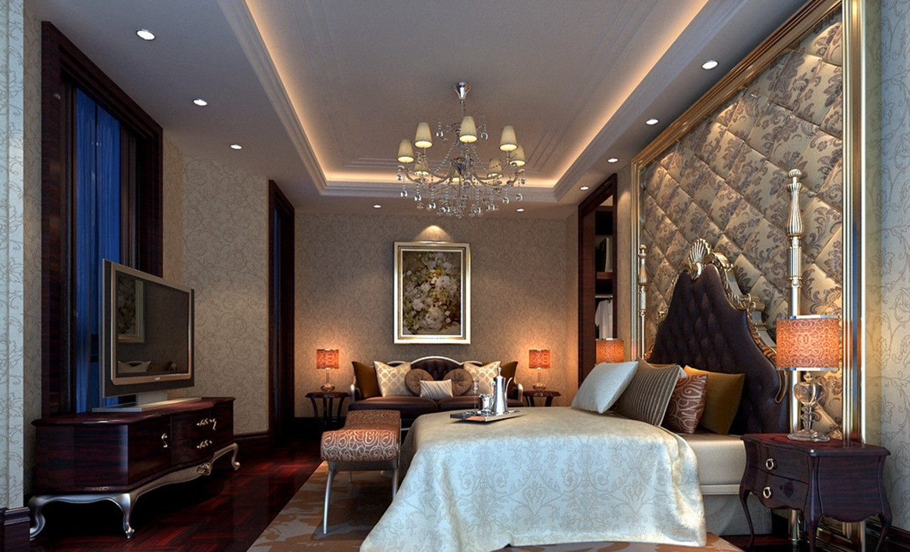 Fascinating French Style Bedroom Designs
