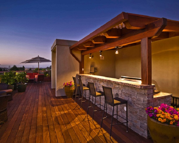 15 Modern Outdoor Bars For Your Utmost Summer Relaxation