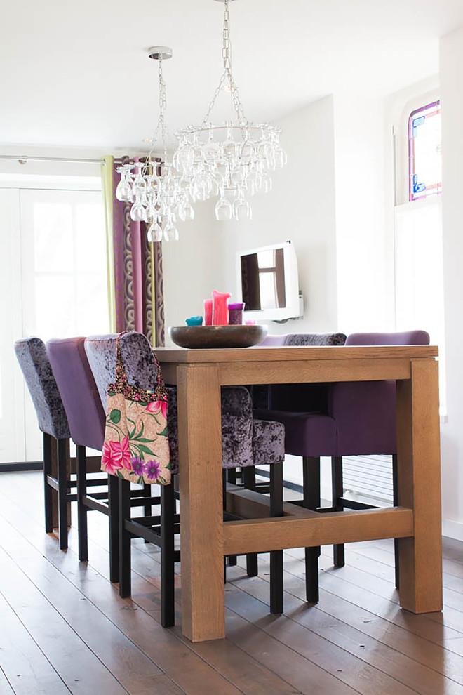 15 Fabulous Purple Dining Room Ideas