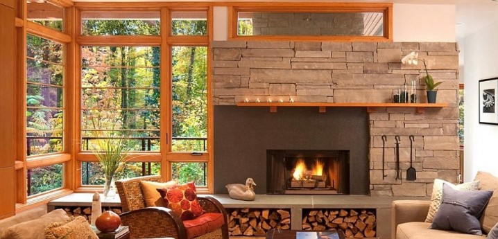 modern country decor living rooms led strip lighting ideas room 27 magnificent indoor and outdoor firewood storage solutions