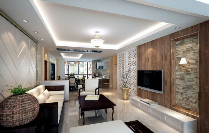 Beautiful Wooden Wall Panels For A Warm Look Of The Living