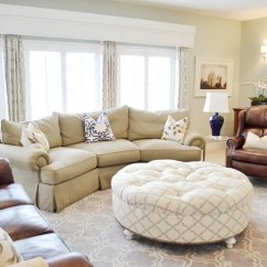 Cream Colored Microfiber Sofa Macys Leather Ottoman Coffee Tables As A Focal Point In The Living Room