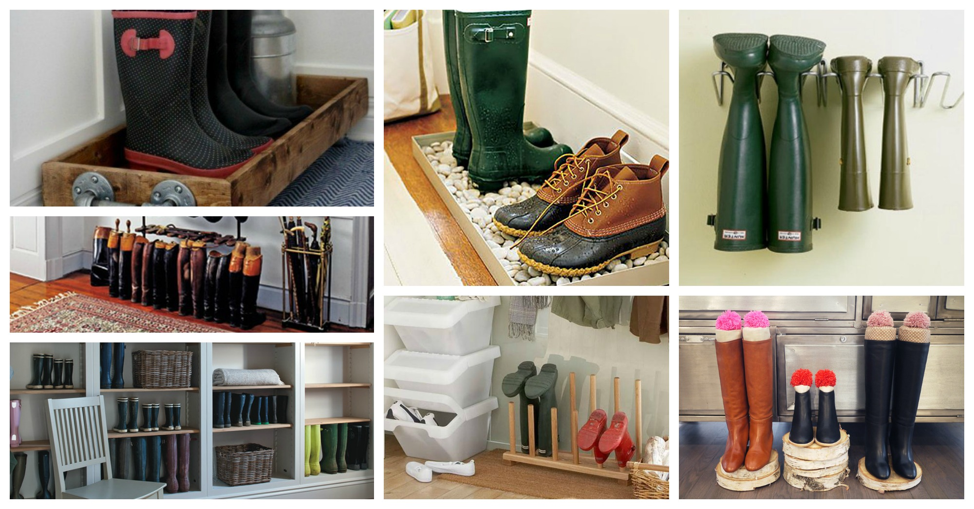 Clever Boots Storage Ideas That Will Save Your From The