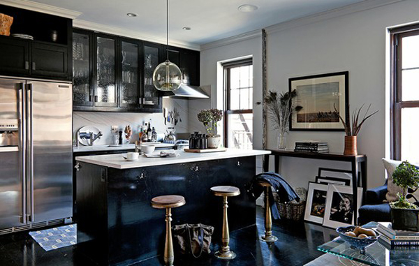 17 modern masculine kitchens for all men who love to cook